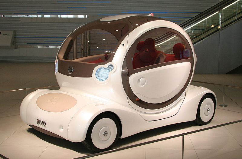 日産自動車のピボ(PIVO)というユニークな車を知っていますか?車の概念が変わります。