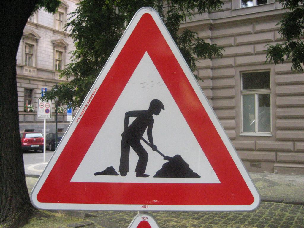ユニークな道路標識