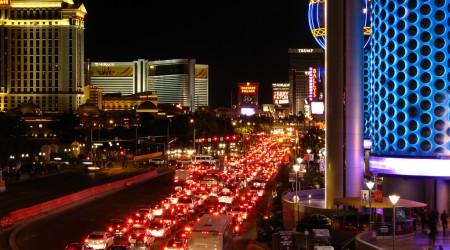 アメリカ・ラスベガスの交通渋滞