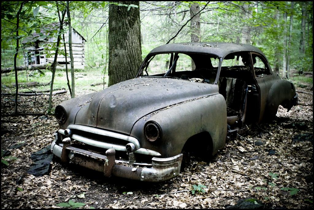 錆びた車-12