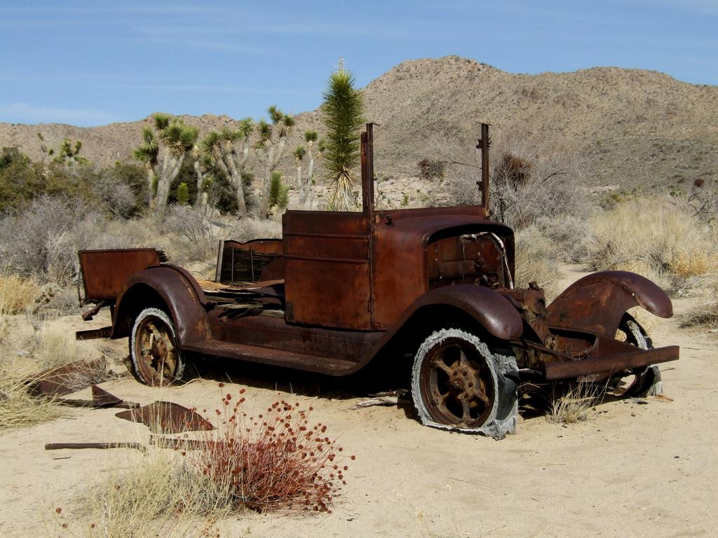 錆びた車-13