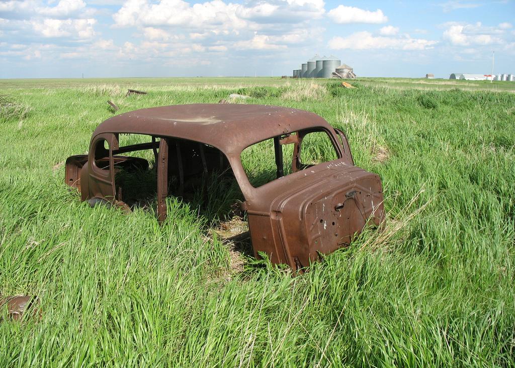 錆びた車-24