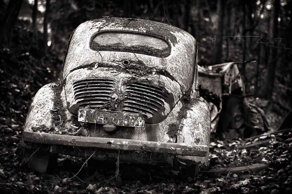 錆びた車-6