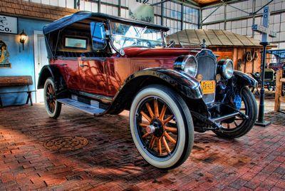 1923年製のオールドカー