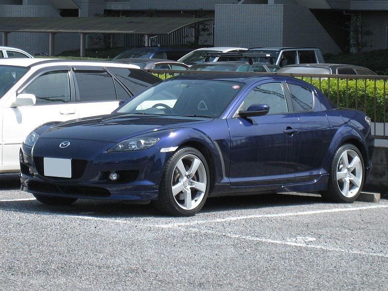 マツダ「RX-8」