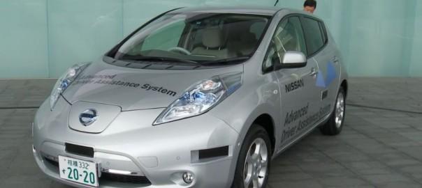 日産の自動運転車が国内ナンバープレートを取得で公道走行可能に