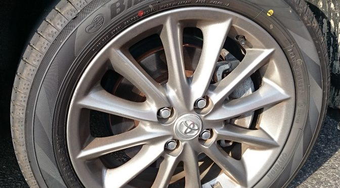 ヨコハマ低燃費タイヤ BluEarth-A AE50